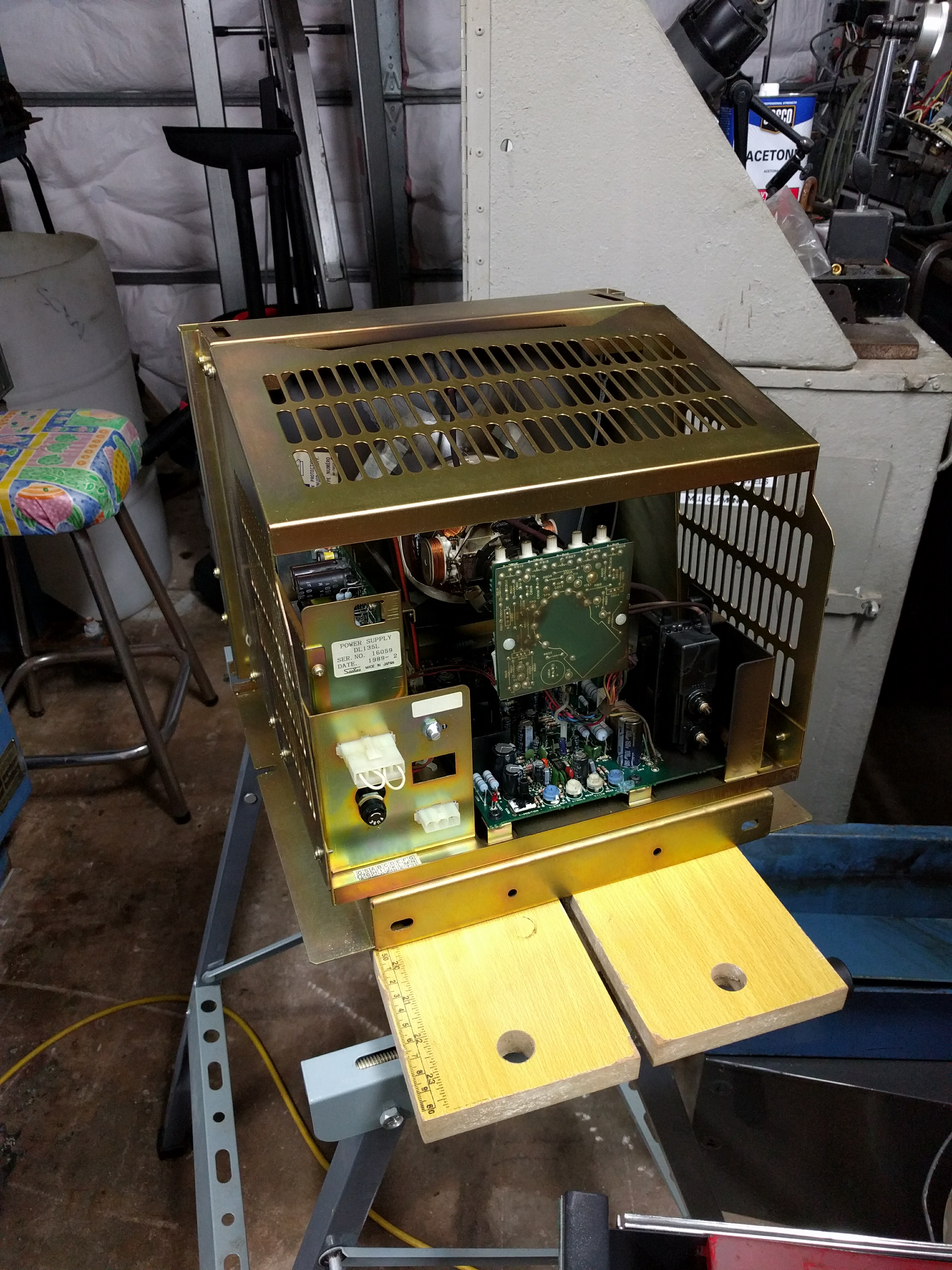 Mazak QT8 CRT replacement with LCD