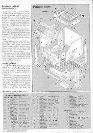 Homemade Sandblasting Cabinet Plans  sc 1 st  Pro Wooden Guide & Pro Wooden Guide: Access Blast cabinet plans